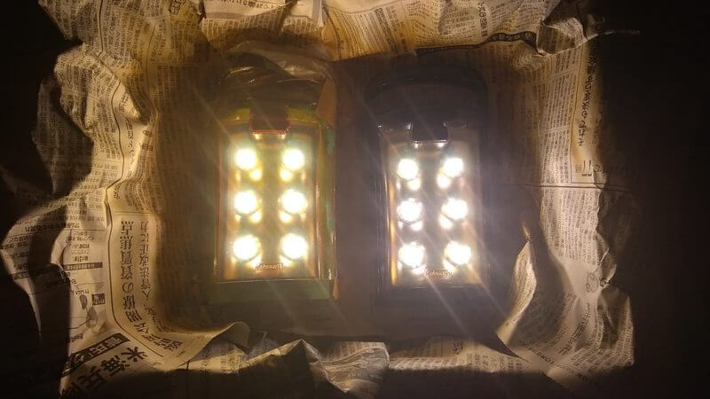 Coleman LED ランタンを塗装する