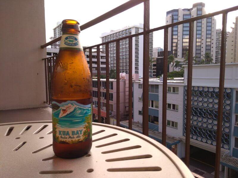 ハワイでビール